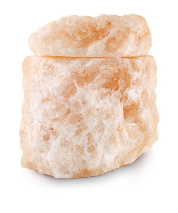Zee-urn van zoutkristal