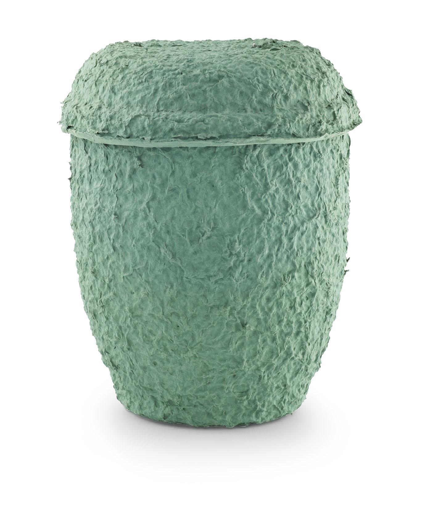Biologische cellulose urn groen