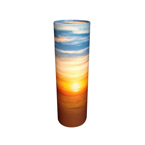 strooikoker zonsondergang
