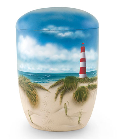 Biologische zee urnen